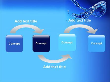 Blue Water PowerPoint Template, Slide 4, 07546, Nature & Environment — PoweredTemplate.com