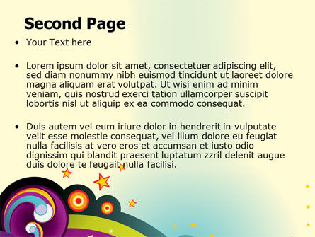 Groove PowerPoint Template Slide 2