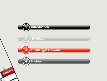 High-Tech Service PowerPoint Template, Slide 3, 07549, Careers/Industry — PoweredTemplate.com