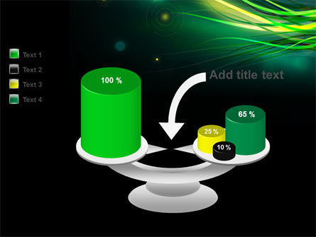 Green Yellow Stripes Free PowerPoint Template Slide 10