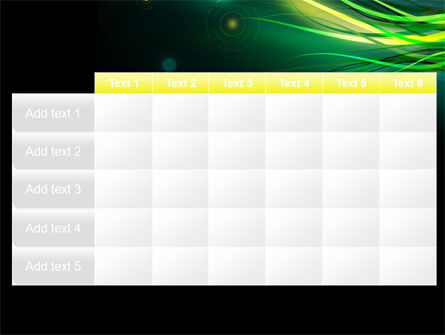 Green Yellow Stripes Free PowerPoint Template Slide 15