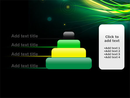 Green Yellow Stripes Free PowerPoint Template Slide 8