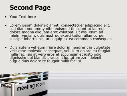 Meeting Room PowerPoint Template, Slide 2, 07553, Business — PoweredTemplate.com