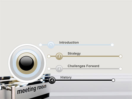 Meeting Room PowerPoint Template, Slide 3, 07553, Business — PoweredTemplate.com