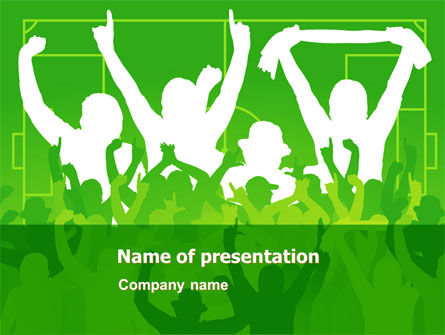 Soccer fan powerpoint template backgrounds 07555 soccer fan powerpoint template toneelgroepblik Gallery