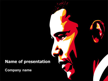 Barack Obama PowerPoint Template
