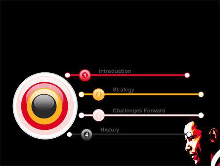 Barack Obama PowerPoint Template, Slide 3, 07556, People — PoweredTemplate.com