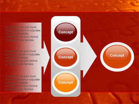 Puzzle Field PowerPoint Template Slide 11