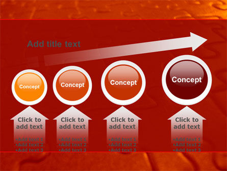 Puzzle Field PowerPoint Template Slide 13