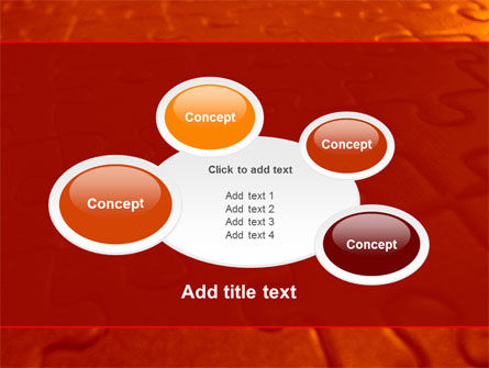 Puzzle Field PowerPoint Template Slide 16