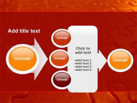 Puzzle Field PowerPoint Template Slide 17