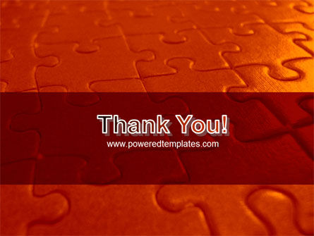 Puzzle Field PowerPoint Template Slide 20