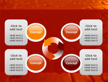 Puzzle Field PowerPoint Template Slide 9