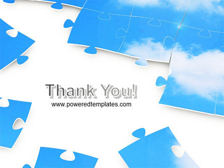 Sky Puzzle PowerPoint Template Slide 20