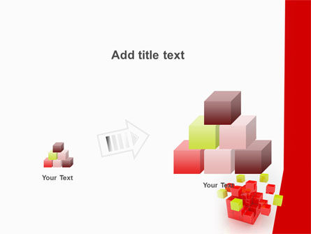 Cube Puzzle PowerPoint Template Slide 13