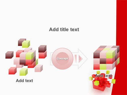 Cube Puzzle PowerPoint Template Slide 17
