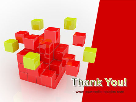 Cube Puzzle PowerPoint Template Slide 20