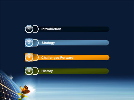Solar Power PowerPoint Template, Slide 3, 07566, Technology and Science — PoweredTemplate.com