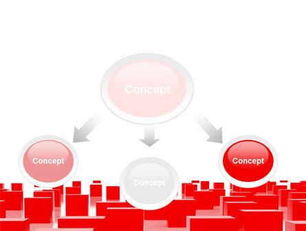 Red Cubes Free PowerPoint Template, Slide 4, 07567, Business — PoweredTemplate.com