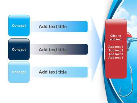 Fishhook PowerPoint Template Slide 12