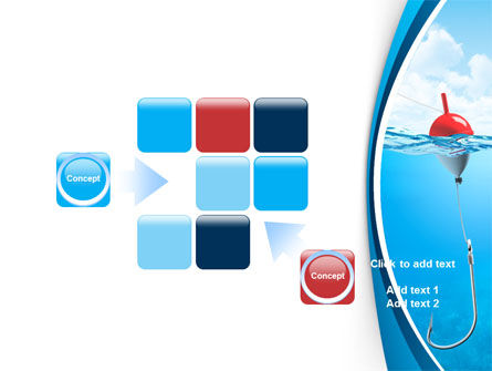 Fishhook PowerPoint Template Slide 16