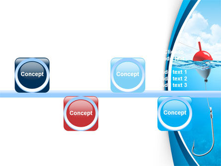 Fishhook PowerPoint Template Slide 19