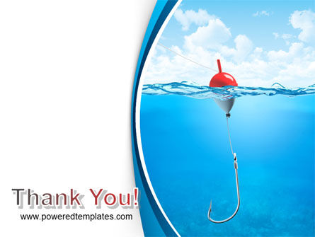 Fishhook PowerPoint Template Slide 20