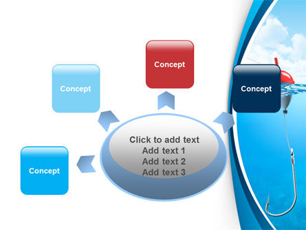 Fishhook PowerPoint Template Slide 7