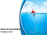 Business: Fishhook PowerPoint Template #07568