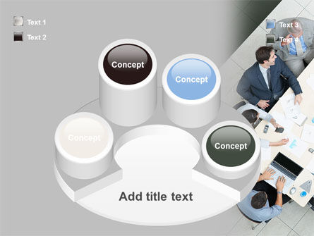 Teamwork Conference PowerPoint Template Slide 12