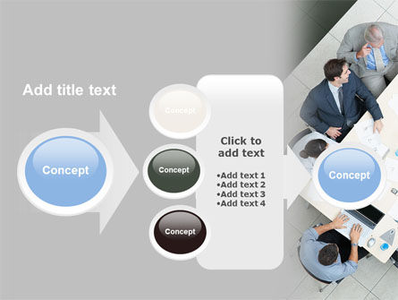 Teamwork Conference PowerPoint Template Slide 17