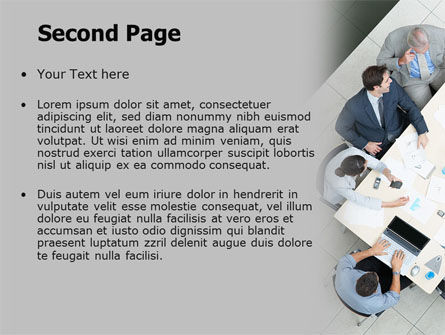 Teamwork Conference PowerPoint Template, Slide 2, 07569, Consulting — PoweredTemplate.com