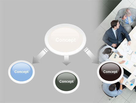 Teamwork Conference PowerPoint Template, Slide 4, 07569, Consulting — PoweredTemplate.com