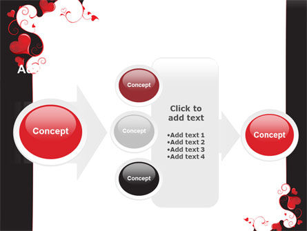 Love Heart Theme PowerPoint Template Slide 17