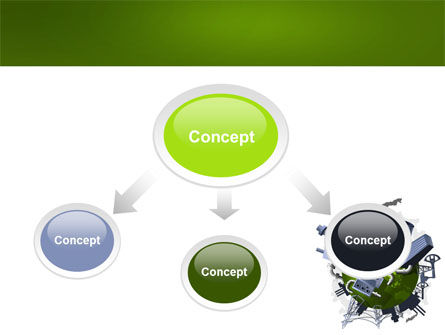 Pollution Control PowerPoint Template, Slide 4, 07574, Utilities/Industrial — PoweredTemplate.com