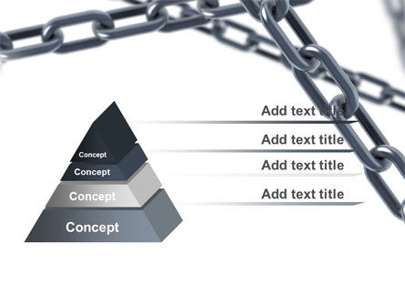 Steel Chains Crossing PowerPoint Template Slide 12