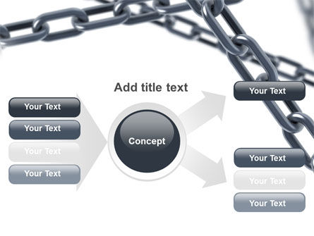 Steel Chains Crossing PowerPoint Template Slide 14