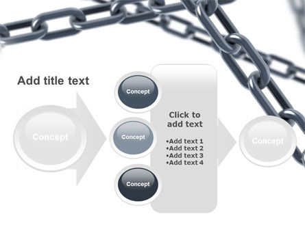 Steel Chains Crossing PowerPoint Template Slide 17