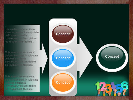 Giving Points PowerPoint Template Slide 11