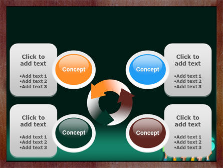Giving Points PowerPoint Template Slide 9