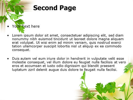 Noodle Frame PowerPoint Template, Slide 2, 07579, Food & Beverage — PoweredTemplate.com