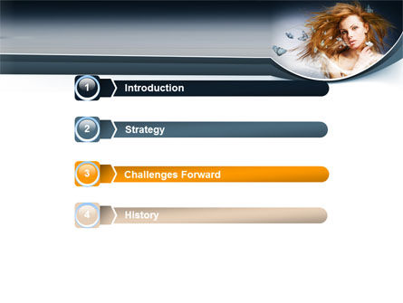 Beauty Design PowerPoint Template, Slide 3, 07580, Careers/Industry — PoweredTemplate.com