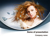 Careers/Industry: Beauty Design PowerPoint Template #07580