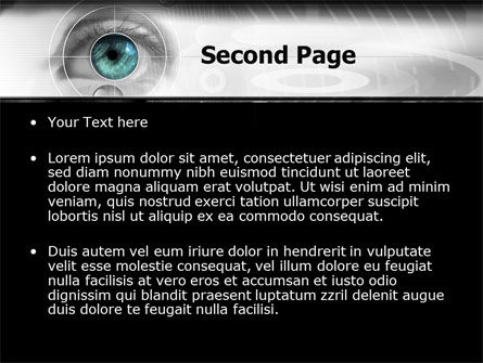 Selection of Contact Lenses PowerPoint Template, Slide 2, 07585, Technology and Science — PoweredTemplate.com