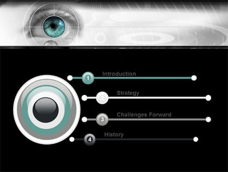 Selection of Contact Lenses PowerPoint Template, Slide 3, 07585, Technology and Science — PoweredTemplate.com