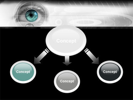 Selection of Contact Lenses PowerPoint Template, Slide 4, 07585, Technology and Science — PoweredTemplate.com