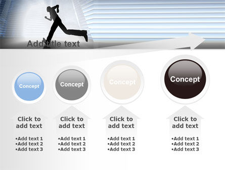 City Runner PowerPoint Template Slide 13