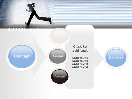 City Runner PowerPoint Template Slide 17