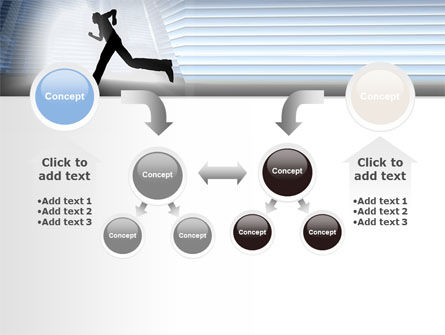 City Runner PowerPoint Template Slide 19
