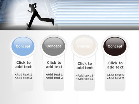 City Runner PowerPoint Template Slide 5
